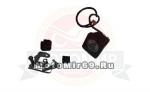 Фара светодиодная доп. света JT-1310C: квадратная 1 диод 10Вт, 67 мм, рассеивающий,