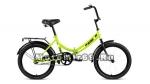 Велосипед 20 FORWARD ALTAIR CITY (складной,1ск, рама 14 сталь, торм.ножной,багаж.) розовый