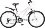 Велосипед 24 STINGER LATINA (21ск,рама 14алюм.спл.,TZ30/TY21/RS35(TS-38)) белый 117377