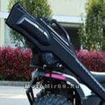 Кофр - кейс для перевозки РУЖЬЯ на квадроциклах - пластиковый корпус, крепления (+текстильная сумка)