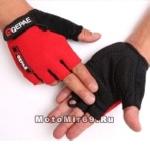 Перчатки QG-035 без пальцев, красные