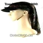 Бандана-кепка (камуфляж темных оттенков 809031) КЕПКА с занавеской сзади- закрывает шею + стильно