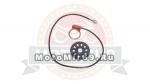 Датчик помошника электровеломотора 26 500Вт (#25849)(Батарея, Тубус) с кольцом магнитов