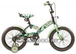 Велосипед 16 STELS PILOT-150 (Army) (1ск,рама сталь 10,зад.ножн.торм.,кор.ст кр., накл.на руль,зв)