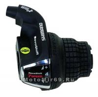 Шифтер Shimano Tourney, RS35, прав. 7скор.