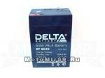 Аккумулятор герметичный 6В 4,5А/ч, AGM (Delta DTM 6045) для электро машинок (70x47x101)