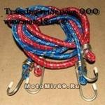 Резинка для крепления багажа (1штx2м) с крюками 57032