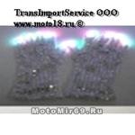 Перчатки светодиодные(белые со светодиодами на коньчиках пальцев, имеют несколько режимов свечения)