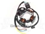 Зажигание Suzuki АD50, AG50 голое (без маховика) (статор 3+1 катушки)