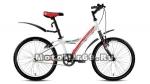 Велосипед 20 FORWARD COMANCHER 1.0 (1ск. рама10,5)) белый, серый мат.