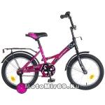 Велосипед 16 FR-10 NOVATRACK (1ск,складной, томоз нож.) фиолетовый