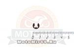 Шайба стопорная натяжного механ 136,137 HUSQVARNA (530038593)