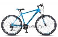 Велосипед 27,5 STELS Navigator-700 V (рама сталь17,5, 19, торм. V-br) синий