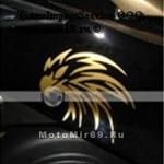 Наклейка золотой орел