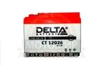 Аккумулятор герметичный 12В 2,5А/ч, AGM (Delta CT12026) (115х50х86) Honda Dio /Tact/ Yam