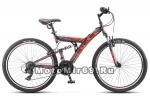 Велосипед 26 STELS FOCUS V 18 SP (2х.подв/й,18ск,рама сталь 18,аморт.вилка,ал.обода,тормоза V-тип)