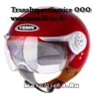 Шлем открытый YM-611 YAMAPA, размер S, (типа крутой пилот, контурный визор) (NEW !!!)