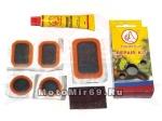 Набор для ремонта камер YP3101-C (5 заплаток, клей, шкурка)