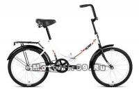 Велосипед 20 FORWARD ALTAIR CITY (складной,1ск, рама 14 сталь, торм.ножной,багаж.) белый