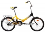 Велосипед 20 FORWARD ARSENAL 1.0 (складной,1ск.,рама 14 нож.торм,) желтый, красный, зеленый,синий