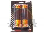 Ручки руля цветные HF4067 металл стразы резина