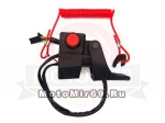 Рычаг газа с подогревом DINGO Т150 (ГОЛЫЙ)
