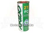 Масло XADO Atomic Oil 2T FC (синтетическое)(1литр)(2Т)(скутер - мототехника, бензопилы)