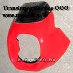 Щиток ветровой (14) пластик Лидер-мини со стеклом б/к