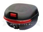 КОФР (премиум) мотоциклетный 27л с ручкой матовый ZH-169A (уп.2 шт.)