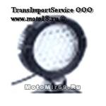 Фара светодиодная доп. света JT-1205-36W оч.большая круглая 36 диодов 190 мм, точечный, 3500LM 9-32
