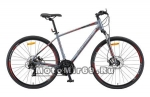 Велосипед 28 STELS Cross-130 MD Gent (горный гибрид,24ск,рама 17,20,торм.обод.(V-Brake),арт 010