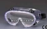 Очки промышленные защитные, типа маски, c вент.клапанами (SLO-HF105-3)
