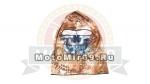 Подшлемник (открыта только область для глаз, камуфляжного осень цвета 890037) с имит.черепа
