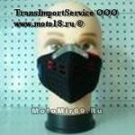 Маска байкера дыхат. (стиль Техно (обычно одев. с очками), поллица, клапаны дыхательные)(МК008)