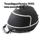 КОФР для шлема (кейс), копия ЕВРОПА, с ручкой и молниями, красивый, ткань+пластик+уретан