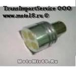 Лампа светодиодная (4 диода) LEDцоколь 1157 - P21/5W - S25 - BAY15d -12V 2-конт с цоколь,напр.белая
