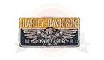 Нашивка Harley Davidson Железный орел 06901127 НАКЛЕИВАЕТСЯ УТЮГОМ