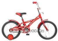 Велосипед 14'' NOVATRACK DELFI (защита А-тип,короткие крылья,нет багажника) красный