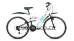 Велосипед 24 FORWARD ALTAIR MTB FS (2х подвес,18ск,рама сталь 14,торм.V-Brake)