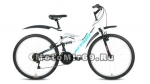 Велосипед 24 FORWARD ALTAIR MTB FS (2х подвес,18ск,рама сталь 14,торм.V-Brake)