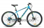 Велосипед 26 STELS Navigator-650 D (21ск,рама ал.16,18,ам.вил,дв.обода,диск.тормоз) синий