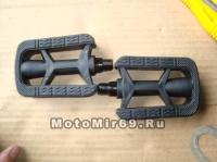 Педали Вело пластик 100х55мм Comfort (EPD-13)