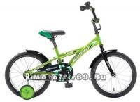 Велосипед 14'' NOVATRACK DELFI (1ск,защита А-тип, короткие крылья) 077410 зеленый