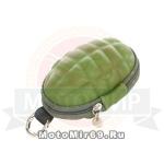 Ключница на пояс или сумку ГРАНАТА (в форме армейской гранаты)