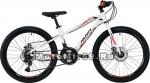 Велосипед 24 NOVATRACK PRIME (18ск, алюм.рама 13, TY21/TS38/SG-6SI, диск.торм.STG) 133971 белый