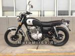 Мотоцикл COMBAT CLASSIC 400 (черный-серебряный)