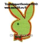 Нашивка Playboy 3 зелененькая 09721131 НАКЛЕИВАЕТСЯ УТЮГОМ