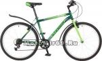 Велосипед 26 STINGER DEFENDER (6ск, рама 16,18, 20 сталь, торм.V-Brake,TY21/RS35) 124774зеленый