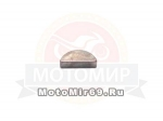 Шпонка Урал коленвала большая (В-6 мм, h-7.5мм, L- 18.57 мм, d-19mm) ГОСТ 24071-97