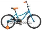 Велосипед 18'' NOVATRACK NEPTUN (1ск, рама сталь,тормоз ножной, багаж.зв.) синий
